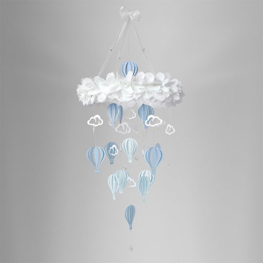 Baby Mobile Balloon Blue Dream