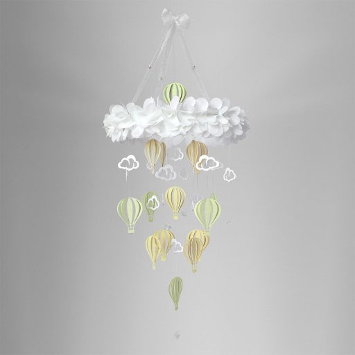 Baby Mobile Balloon Green Forrest