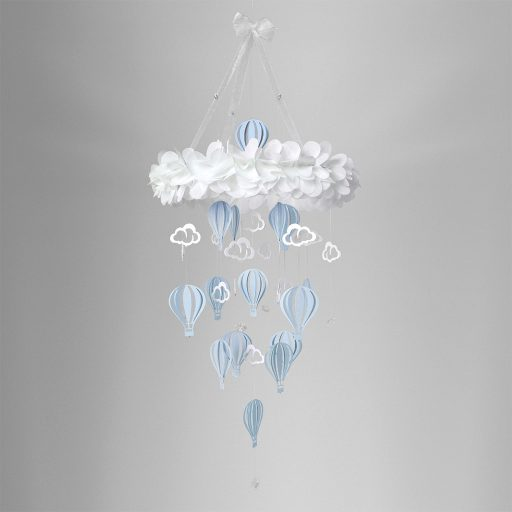 Baby Mobile Balloon Sky Blue