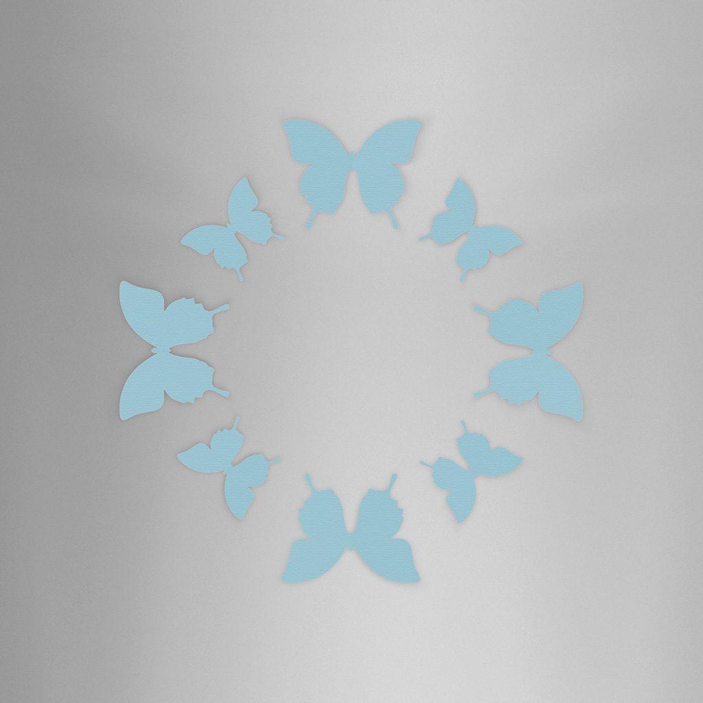 Wall Decor Basic Blue