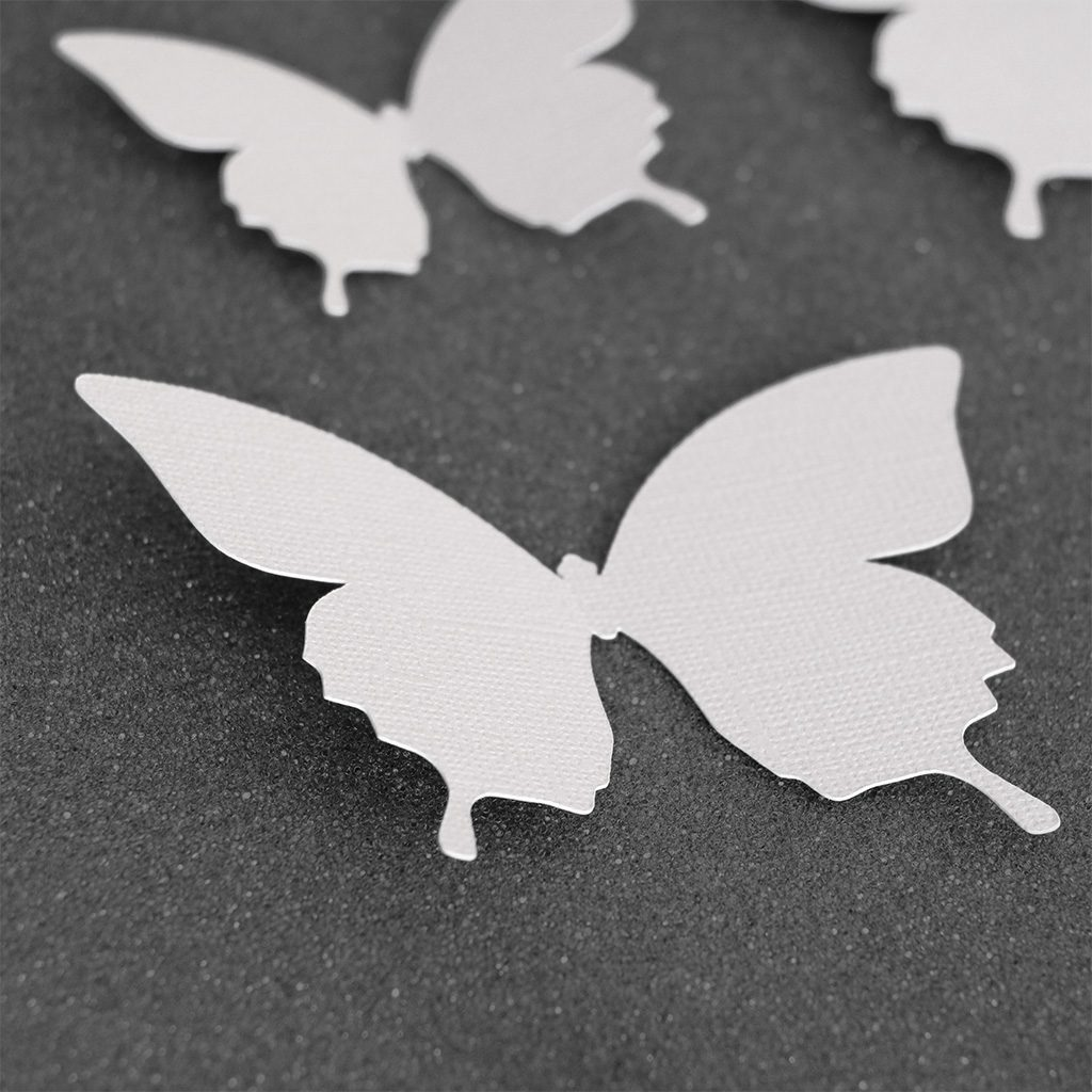 Wall Decor Butterfly White