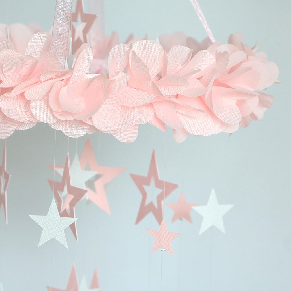 Baby Mobile Stardust Pink