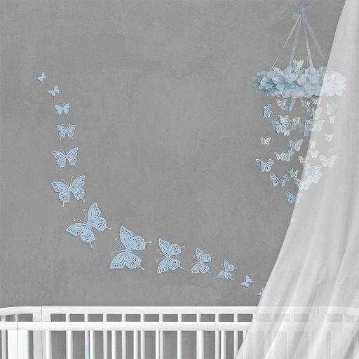 Wall Decor Butterfly Blue